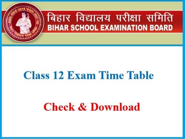 Bihar Board Exam 2021: Class 12
