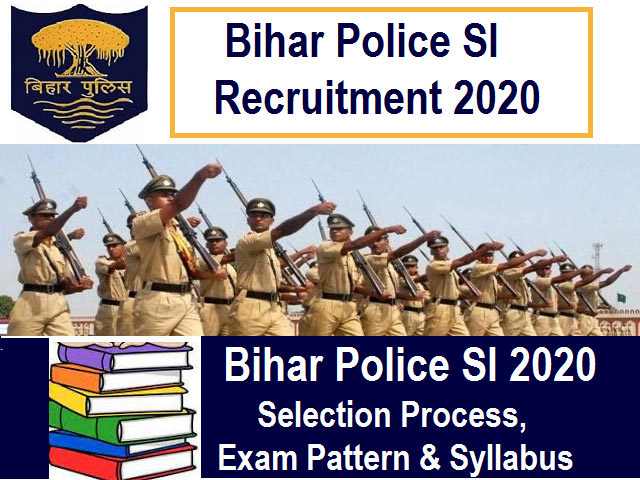 Bihar Police SI Syllabus 2020