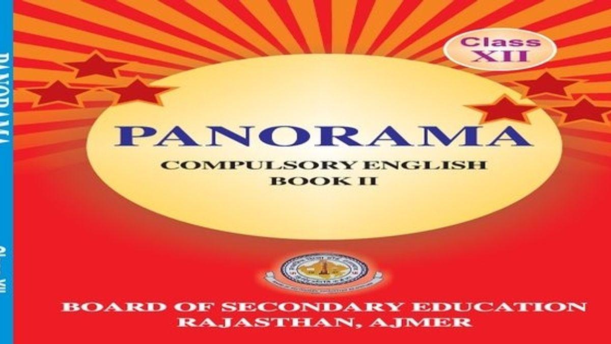 Rajasthan Board Class 12 English Book