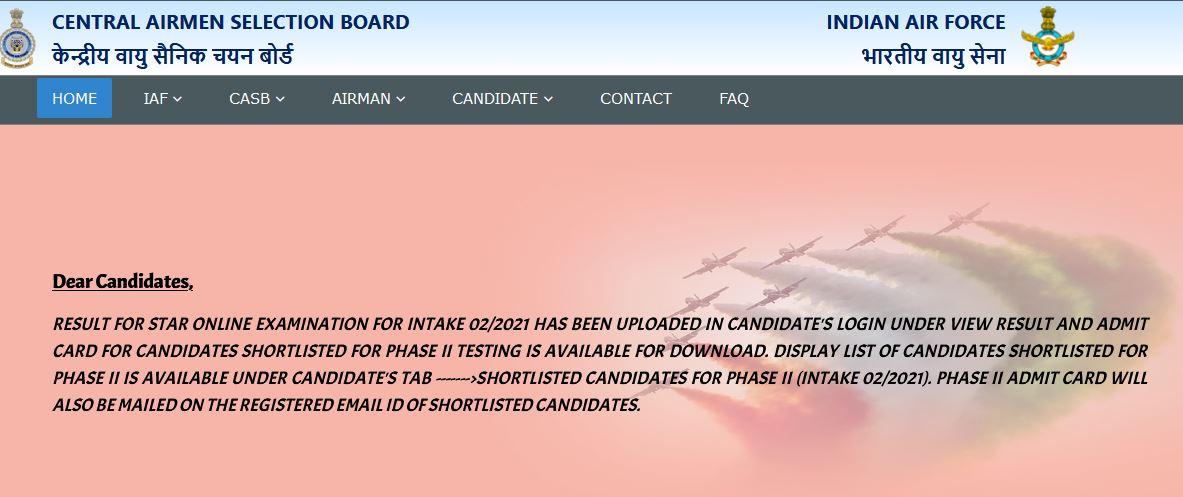 CASB Airmen Result 2020