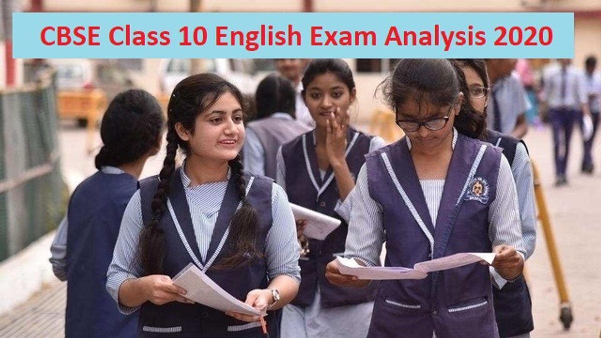 CBSE Class 10 English Exam 2020