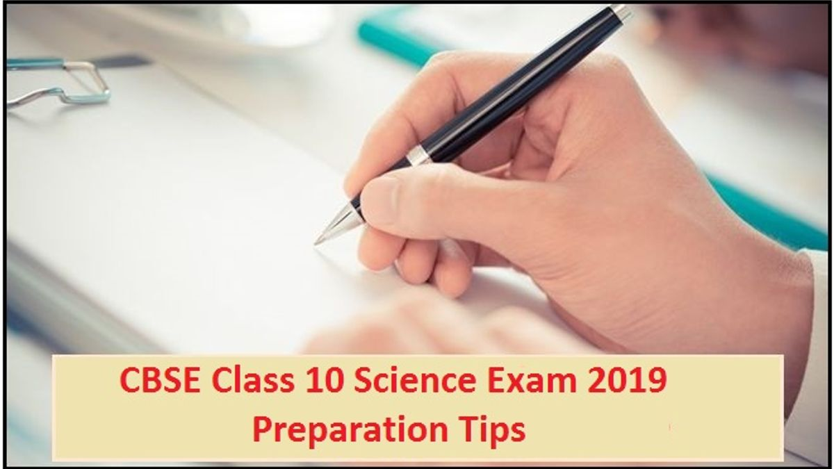 CBSE Class 10 Science Exam 2019