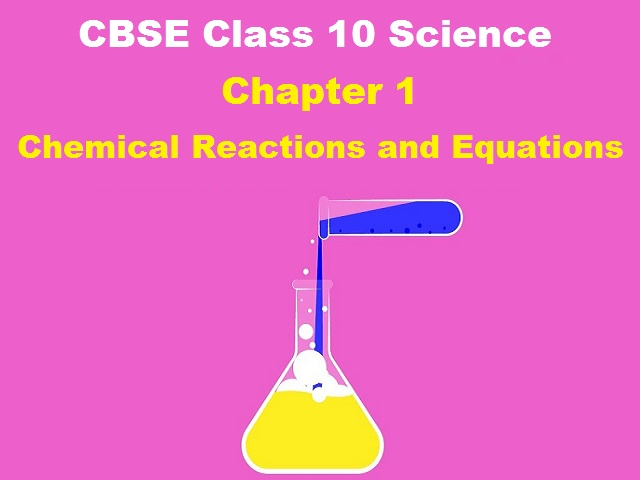 CBSE Class 10 Science NCERT Based Extra Questions for Chapter 1