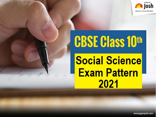 CBSE Class 10 Social Science Exam Pattern 2021
