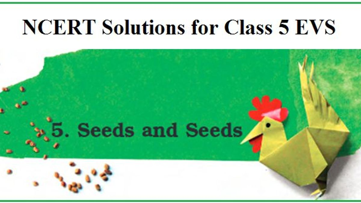 NCERT Solutions for Class 5 EVS Chapter 5