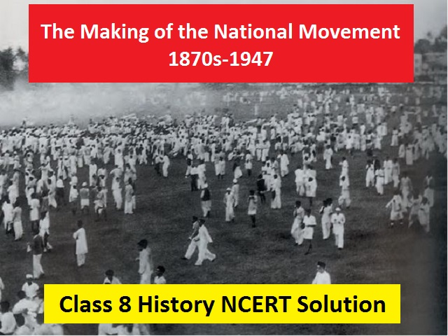 NCERT Solutions for Class 8 Social Science History Chapter 9