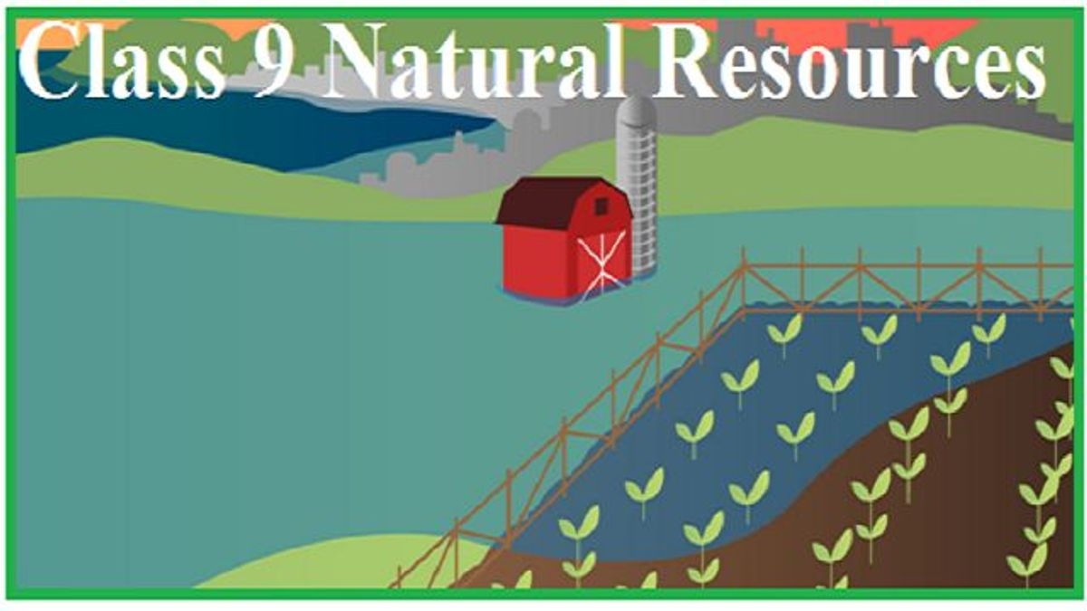 Class 9 Science, Natural Resources: Chapter Notes