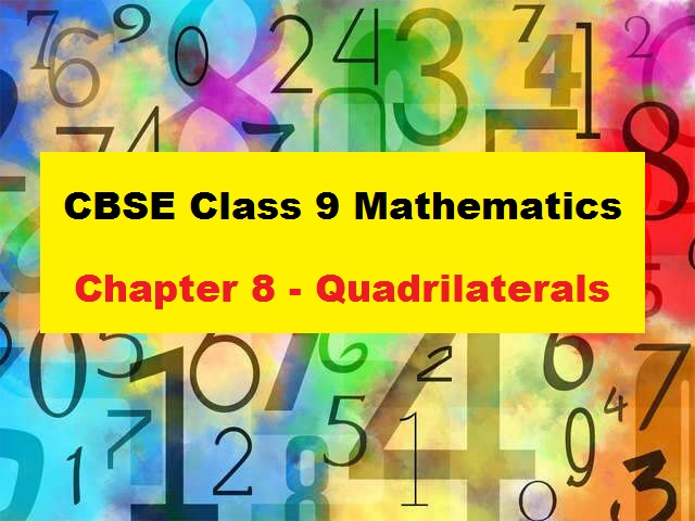 CBSE Class 9 Maths Extra Questions and Answers Chapter 8 Quadrilaterals