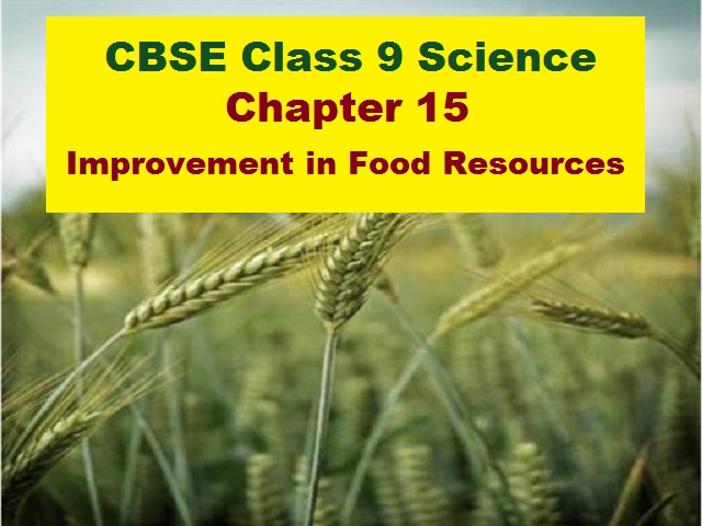 CBSE Class 9 Science Extra Questions and Answers Chapter 15