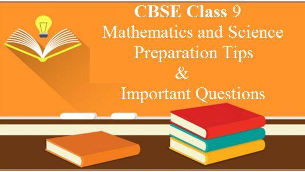 Mathematics and Science Chapterwise Tips and Strategies