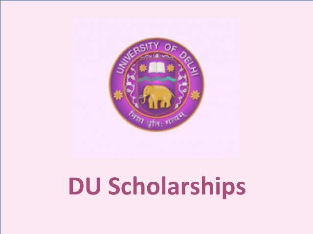 DU Admission 2020: Scholarship Scheme for Aspirants