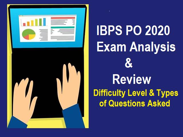 IBPS PO Exam Analysis 2020
