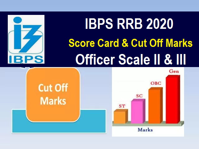 IBPS RRB Score Card & Cut off 2020