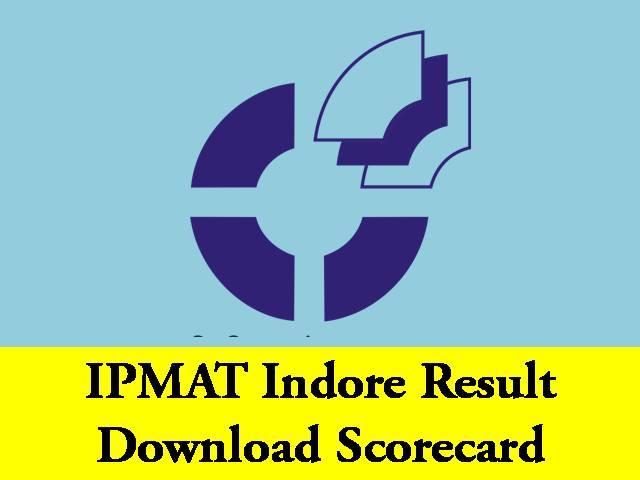 IPMAT Indore Result 2020