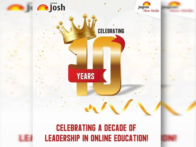 Jagranjosh.com Completes a Decade