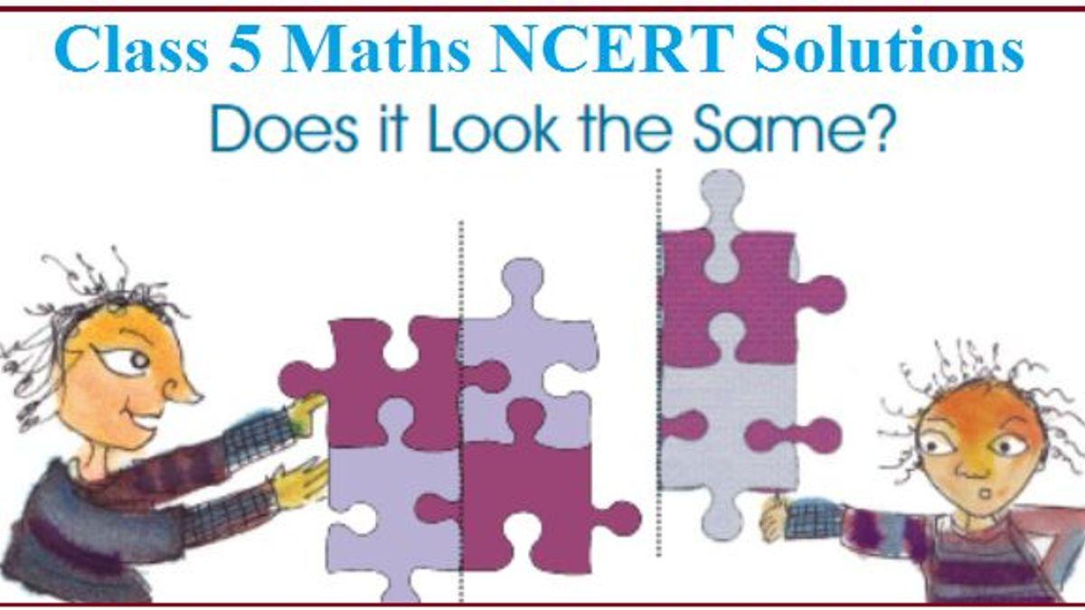 NCERT Solutions for Class 5 Maths Chapter 5