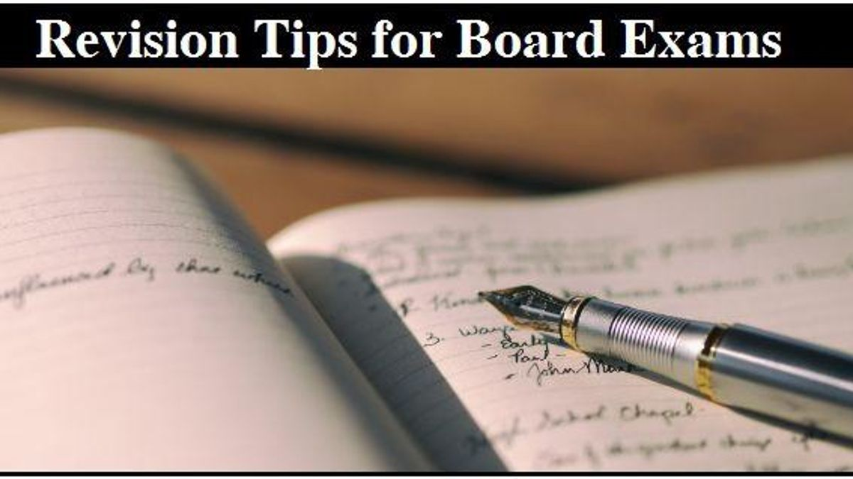 Tips to follow while revising for CBSE board exams