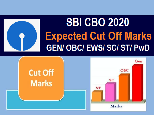 SBI CBO 2020 Cut Off