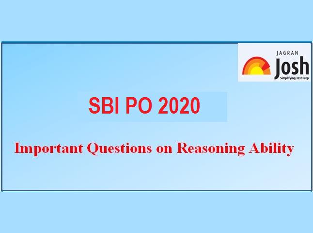 SBI PO Prelims 2020: Mock Test on Reasoning Ability