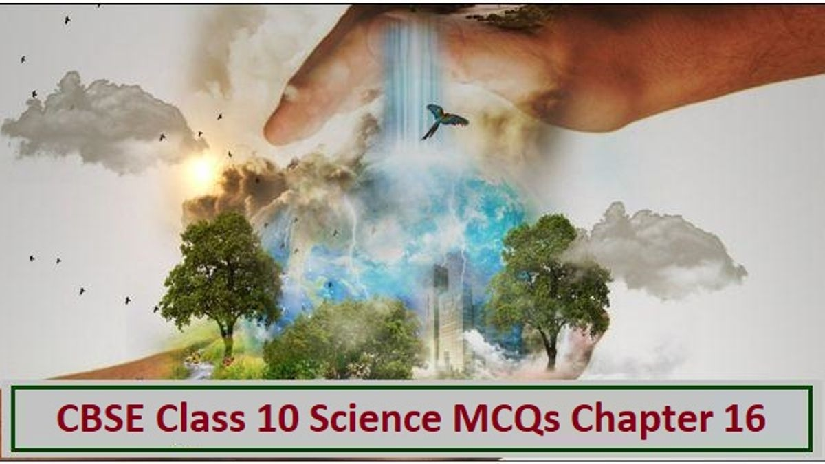 CBSE Class 10 Science MCQs Chapter 16 Management of Natural Resources