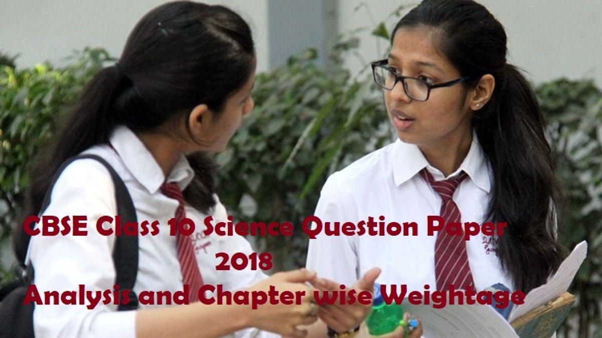cbse class 10 science paper analysis