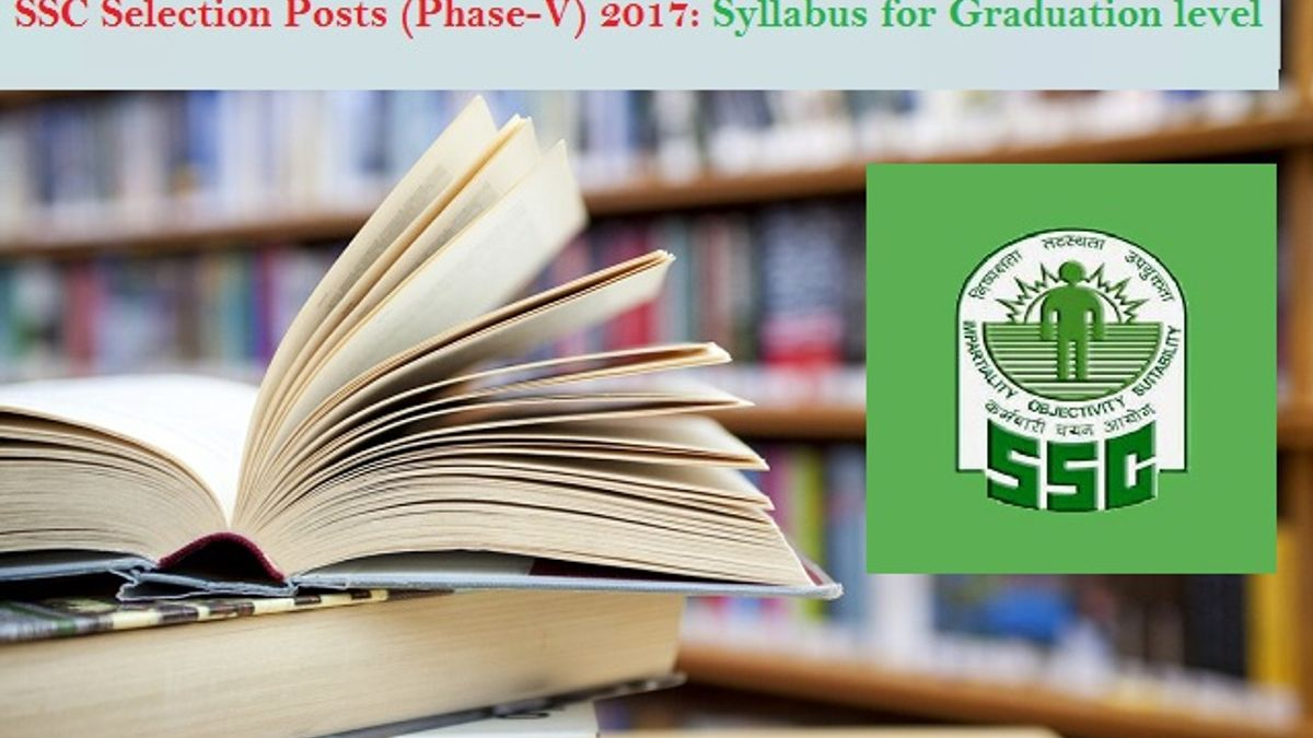 ssc selection posts syllabus