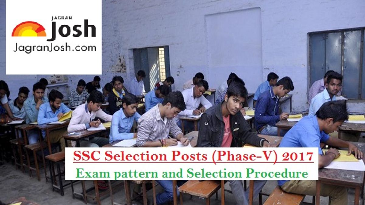 ssc selection posts pattern
