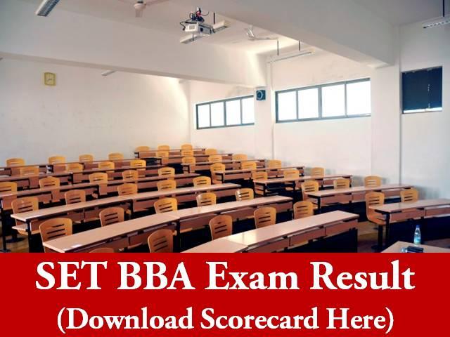 SET BBA 2020 Result - Download Scorecard Here