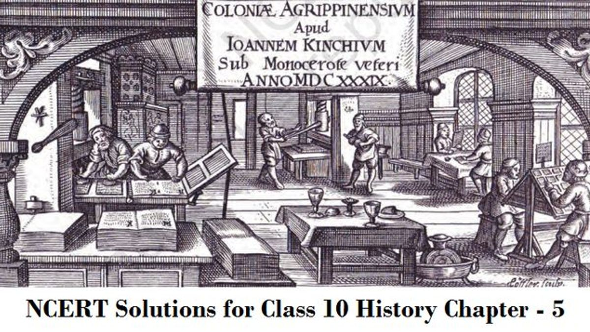 NCERT Solutions for Class 10 Social Science History Chapter 5