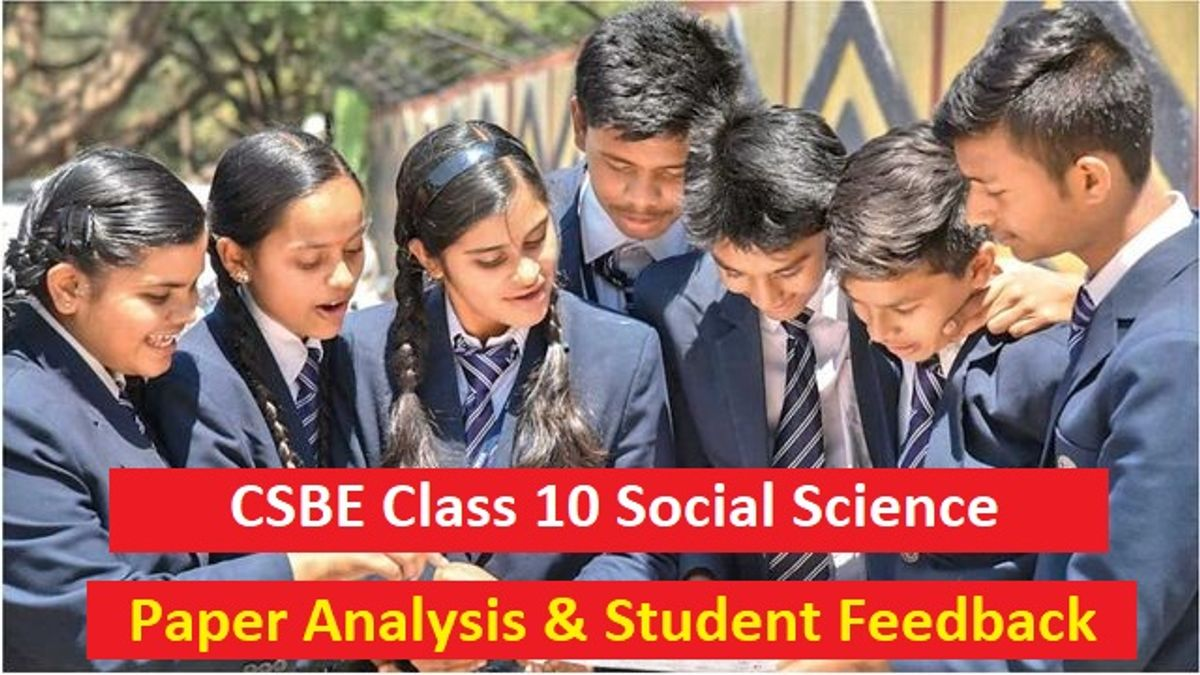CBSE Class 10 Social Science Board Exam 2020