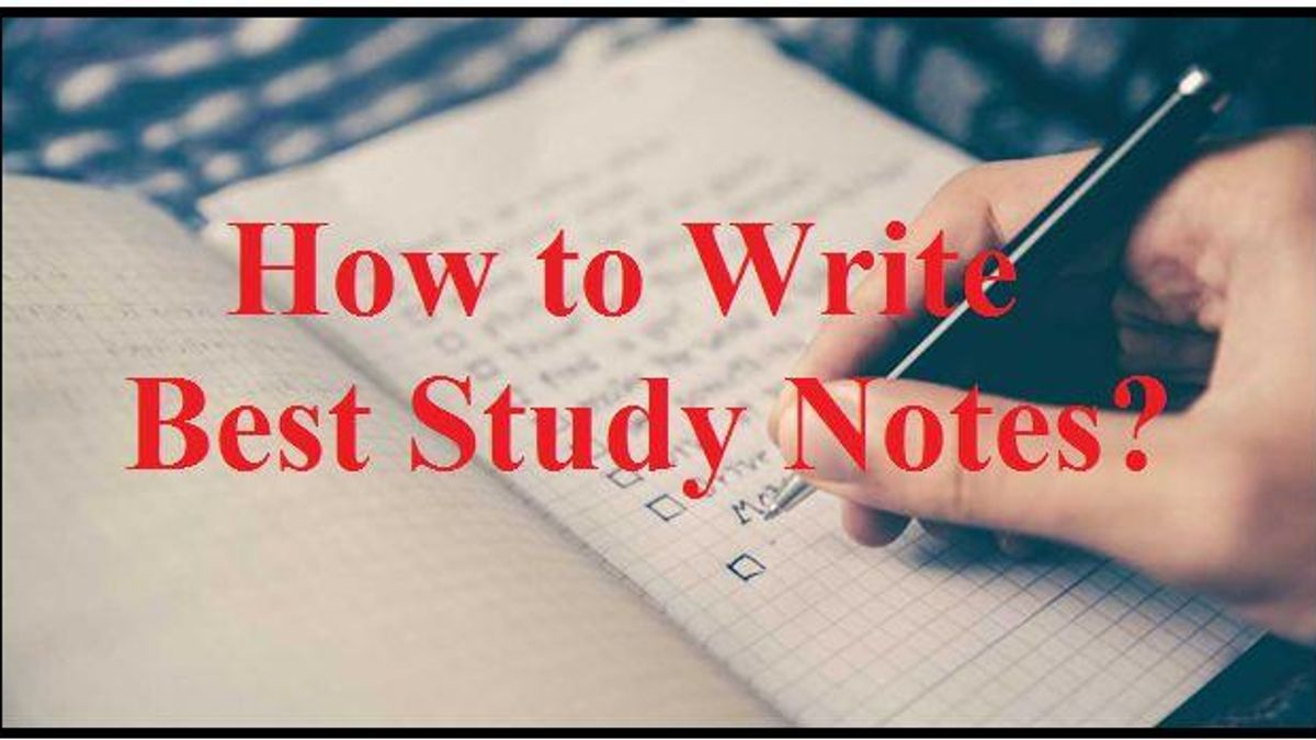 Tips to Write Perfect Study Notes