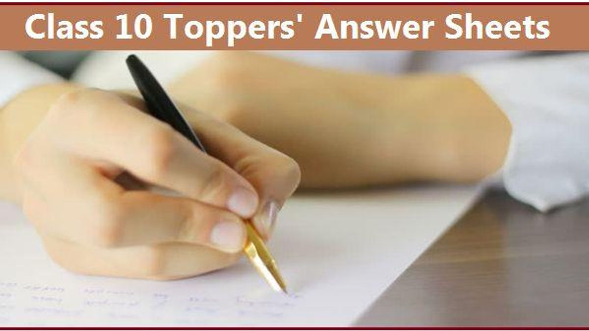Class 10 Toppers' Answer Scripts