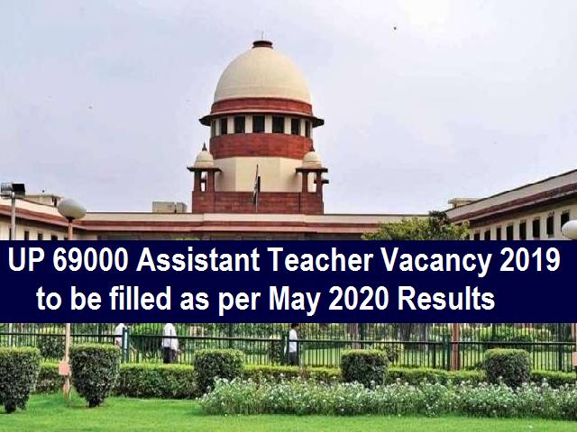 UP 69000 Teacher Recruitment 2019