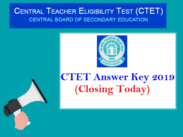 CTET Answer Key 2019 Released