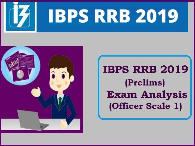 IBPS RRB 2019 Prelims Exam Analysis