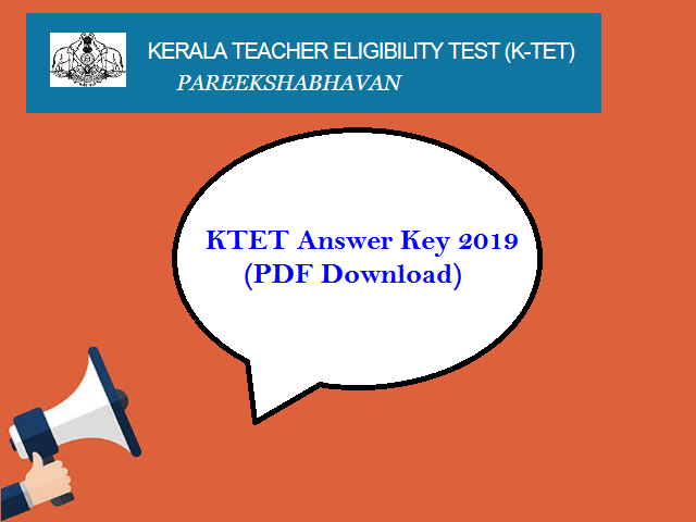 PDF Download KTET Answer Key 2019