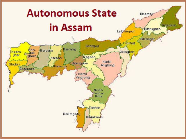 Why there is a demand for Autonomous State in Assam?