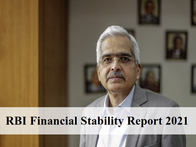 RBI Financial Stability Report 2021