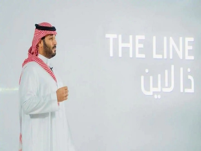 The Line city within NEOM