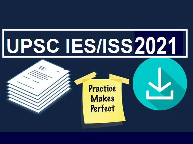 UPSC IES ISS Previous Years Papers