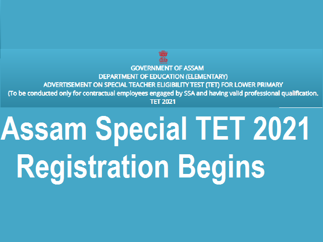 Assam Special TET 2021