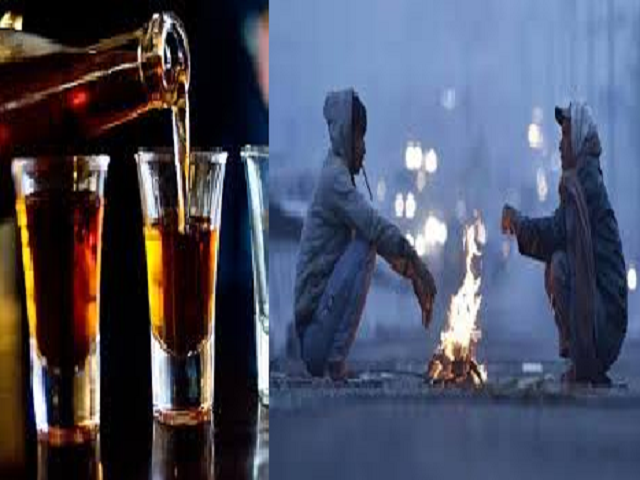 Why has IMD advised people in north India not to drink alcohol during the cold wave?