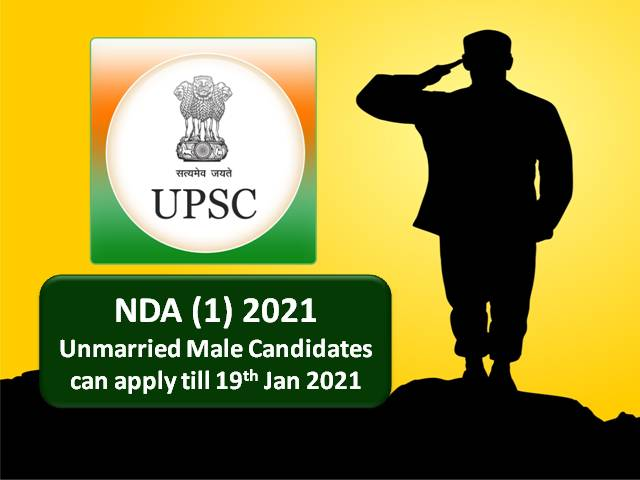 UPSC NDA 2021 (1) Online Registration Ends Today @upsconline.nic.in for 400 Vacancies in Indian Army/Navy/Air Force: Check How to Apply Online!