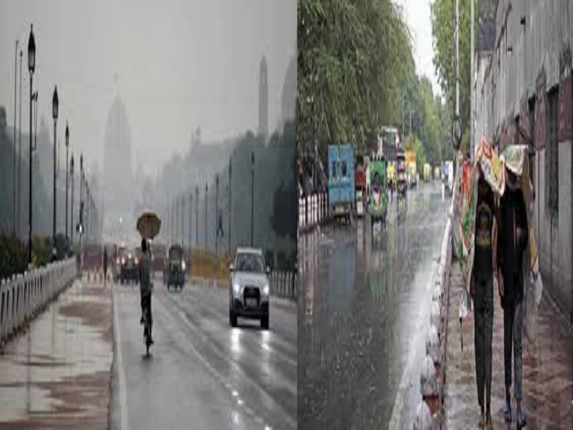 Why is it raining in North India?