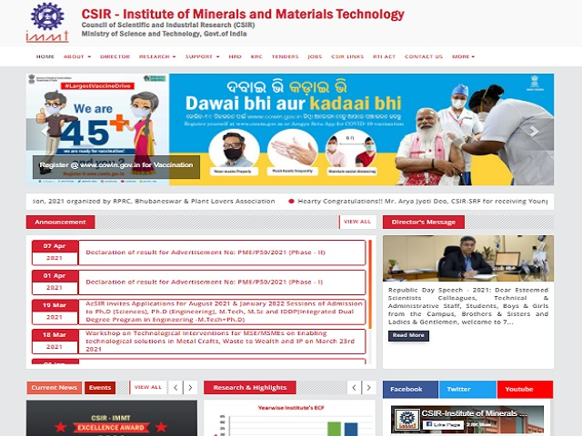 Apply Online for 15 Scientist Posts before 17 May