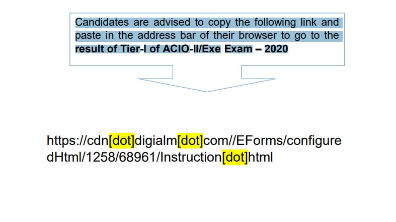 Check Download Link Here for Assistant Central Intelligence Officer & Executive Tier 1 Exam Here