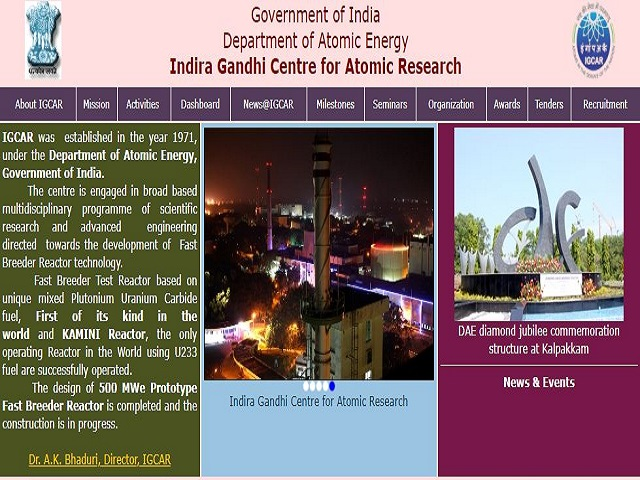 Last Date Extended for 337 Stipendiary Trainee, Work Assistant & Other Posts, Apply @igcar.gov.in