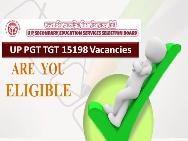 UPSESSB UP TGT PGT Teacher 2021 Recruitment Eligibility Criteria: Check Age Limit & Educational Qualification for 15198 Teacher Vacancies