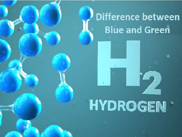 Difference between Green Hydrogen and Blue Hydrogen