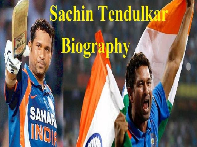Sachin Tendulkar Biography: Early Life, Cricket Journey and Awards